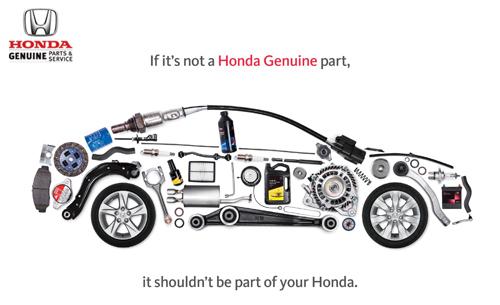 Genuine Honda Parts